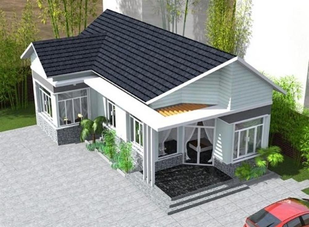 Những mẫu nhà cấp 4 cực đẹp và hiện đại với chi phí chỉ từ 200 triệu đồng-6