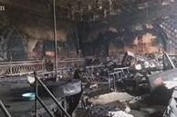 Cận cảnh bên trong quán bar X5 ở Vĩnh Phúc sau vụ hỏa hoạn khiến 3 thiếu nữ tử vong: Phải đục tường mới đưa được thi thể ra ngoài