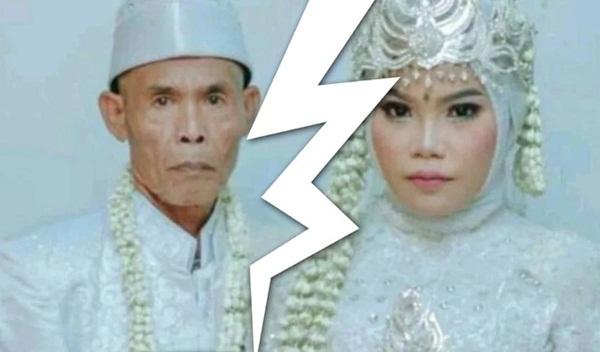 Cặp đôi đũa lệch chú rể 78 tuổi, cô dâu 17 tuổi ly hôn sau 22 ngày chung sống, cô dâu suy sụp bỏ ăn 1 ngày-1