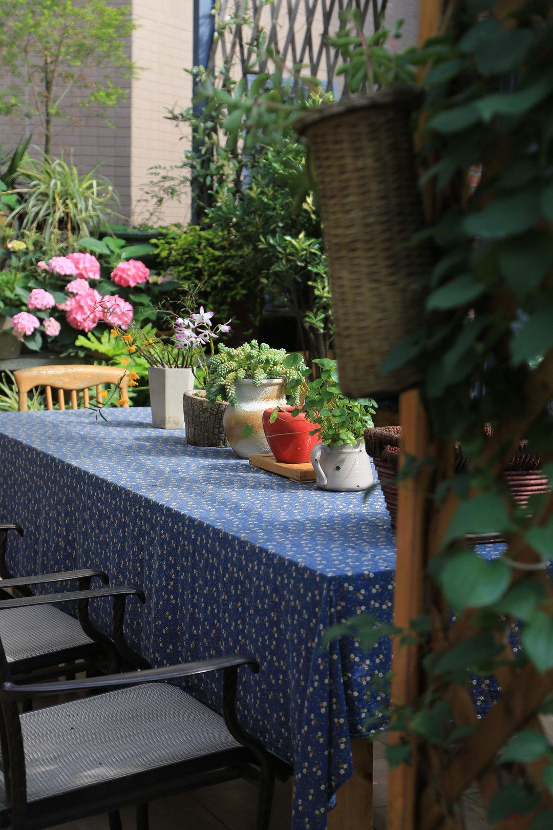 Khu vườn quanh năm chỉ có mùa xuân với hoa nở tưng bừng của cô giáo dạy Toán-17