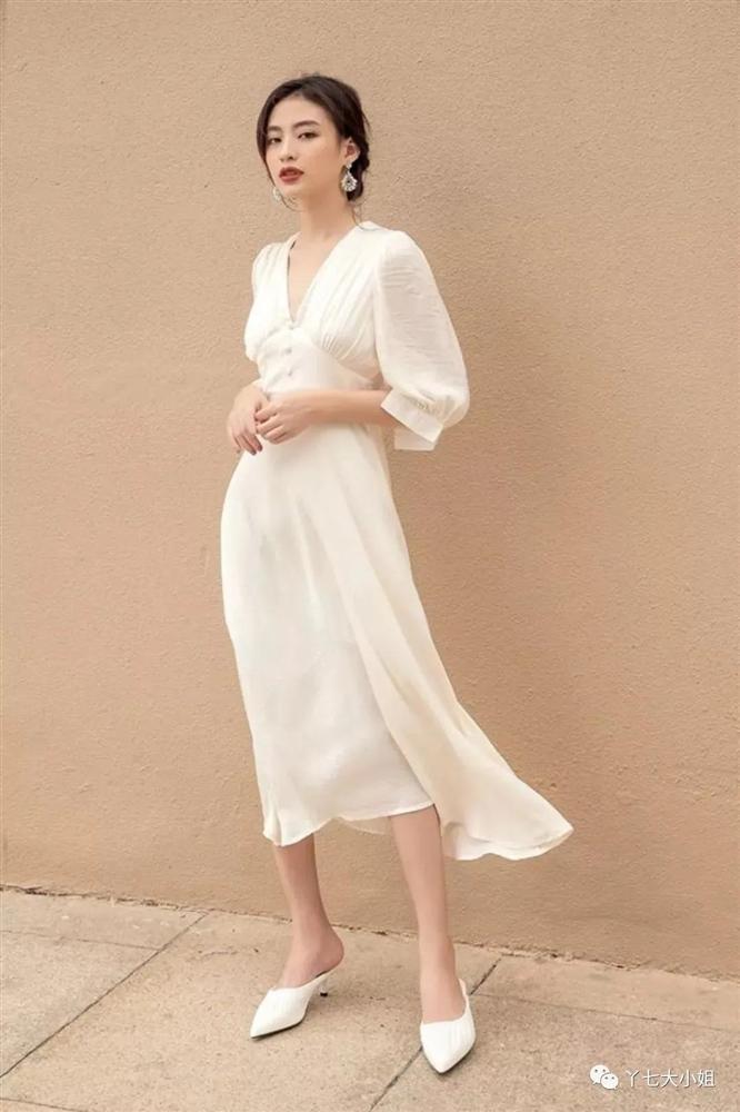 4 kiểu váy trắng mặc lên hack ngay 5 tuổi, diện đi làm hay đi chơi cũng max xinh-6