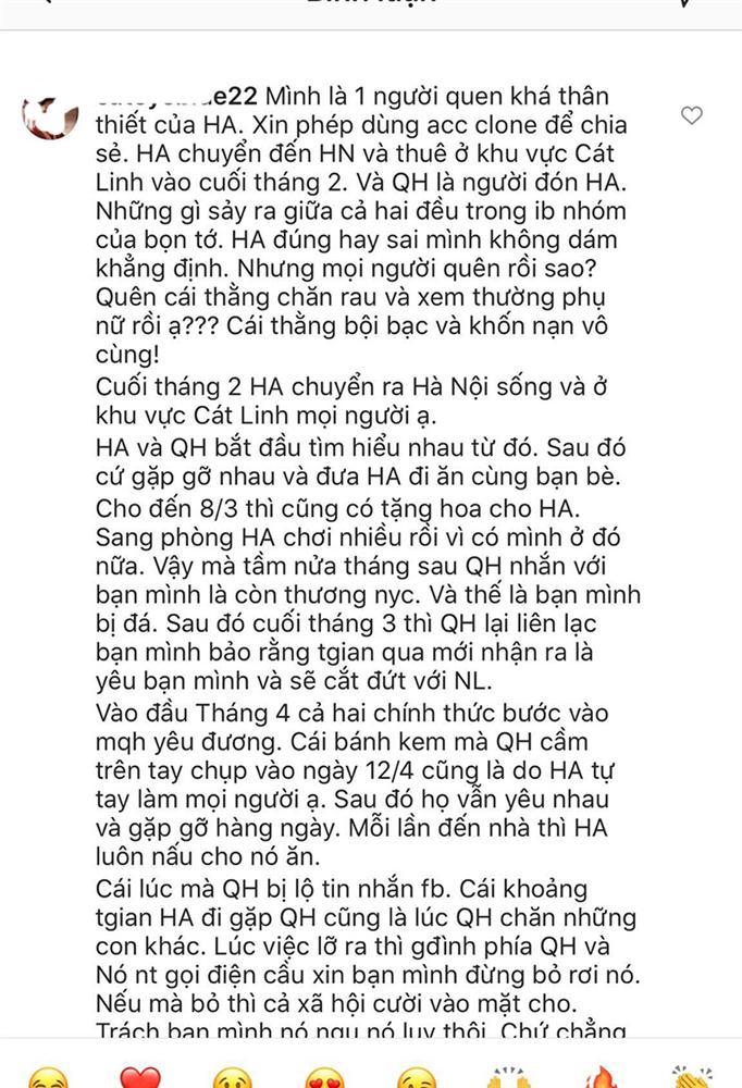 Bạn thân Huỳnh Anh tố Quang Hải tàn nhẫn, hồi bị hack Facebook đã cầu xin đừng bỏ rơi để không ảnh hưởng danh tiếng-2