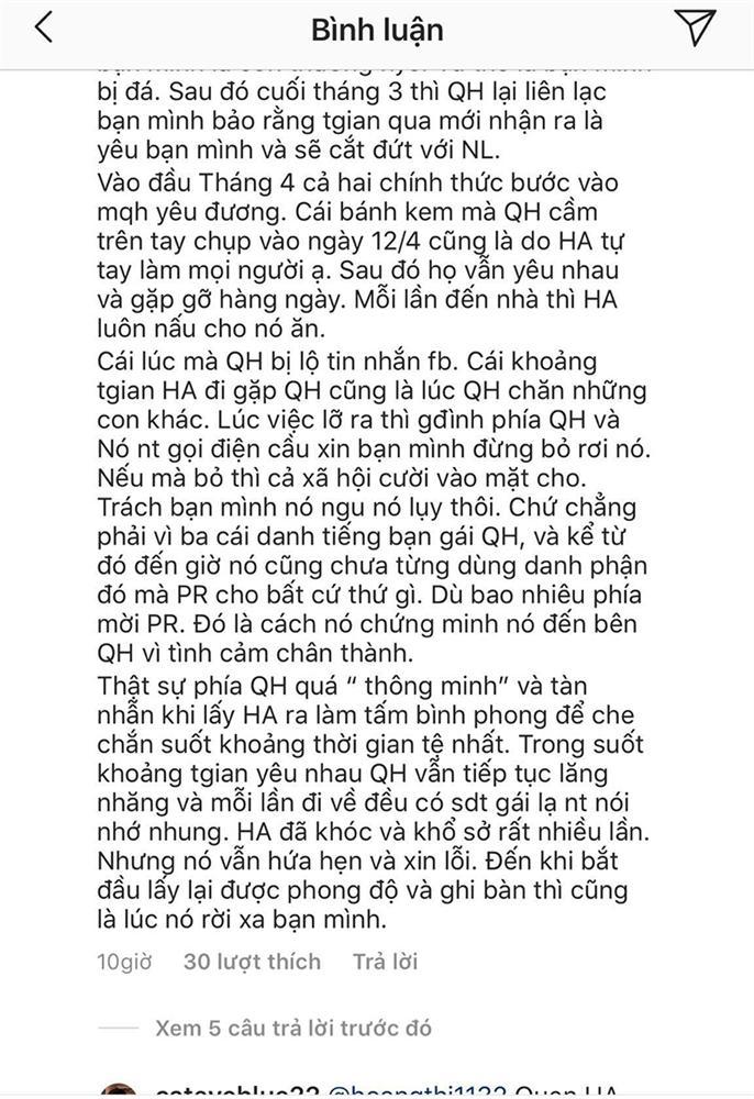 Bạn thân Huỳnh Anh tố Quang Hải tàn nhẫn, hồi bị hack Facebook đã cầu xin đừng bỏ rơi để không ảnh hưởng danh tiếng-3
