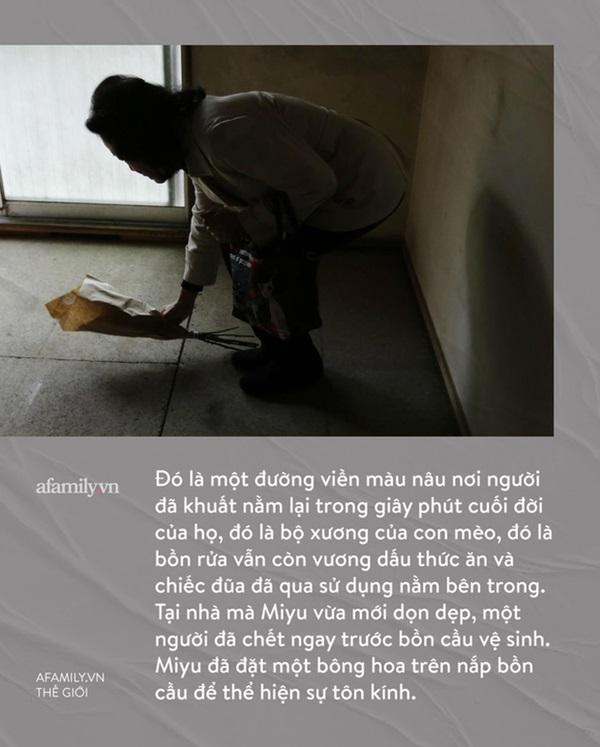 Cô gái làm nghề dọn dẹp nhà cửa hậu những cái chết cô độc ở Nhật: Trên cả công việc làm công ăn lương là vô vàn nỗi niềm dành cho người đã khuất-4