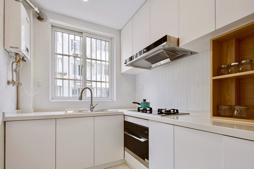 Căn hộ màu trắng chỉ vỏn vẹn 20m² vẫn đủ cho gia đình 6 người nhờ cách bố trí nội thất siêu linh hoạt-6