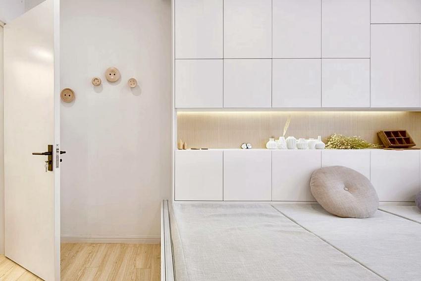 Căn hộ màu trắng chỉ vỏn vẹn 20m² vẫn đủ cho gia đình 6 người nhờ cách bố trí nội thất siêu linh hoạt-8