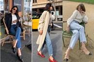 6 kiều giày hợp cạ với quần jeans, diện lên là thành quý cô thời thượng tức thì