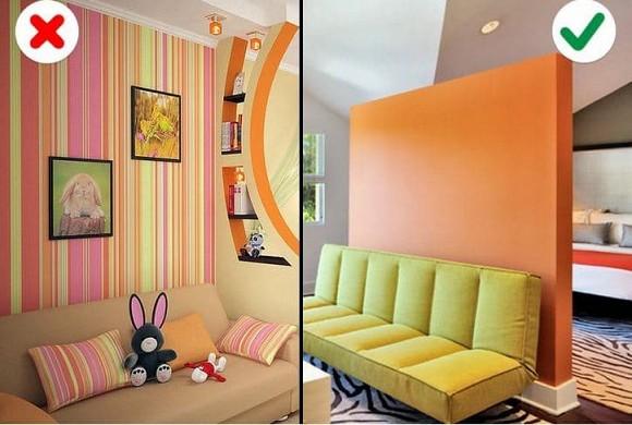 Những sai lầm phổ biến nhất mà chúng ta thường mắc phải khi chọn màu sắc bên trong căn nhà-1