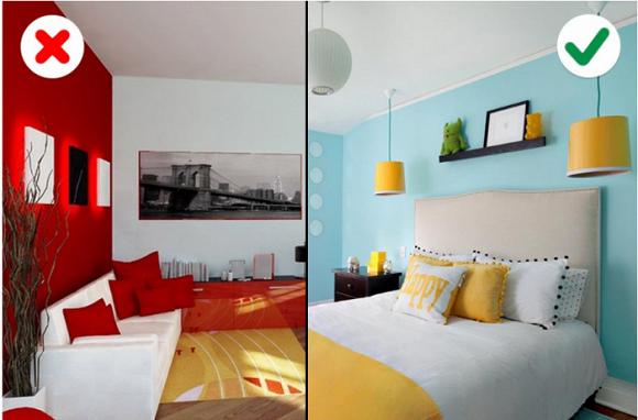 Những sai lầm phổ biến nhất mà chúng ta thường mắc phải khi chọn màu sắc bên trong căn nhà-6