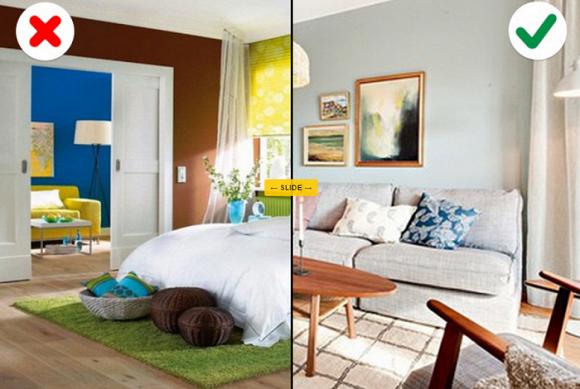 Những sai lầm phổ biến nhất mà chúng ta thường mắc phải khi chọn màu sắc bên trong căn nhà-9