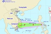 Bão số 11 vừa tan, áp thấp nhiệt đới mới vào Biển Đông và trở thành bão số 12 hướng thẳng miền Trung