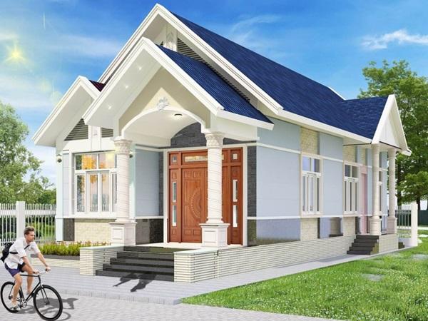 Những mẫu nhà cấp 4 đẹp, phong cách kiến trúc đa dạng ai ngắm cũng mê-4