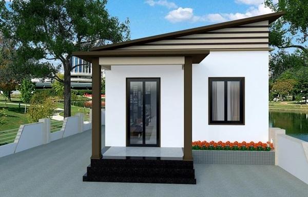Những mẫu nhà cấp 4 đẹp, phong cách kiến trúc đa dạng ai ngắm cũng mê-5