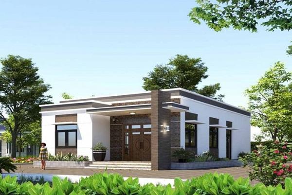 Những mẫu nhà cấp 4 đẹp, phong cách kiến trúc đa dạng ai ngắm cũng mê-6