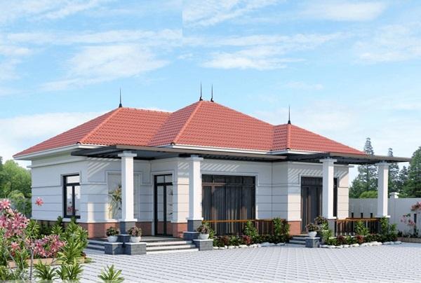 Những mẫu nhà cấp 4 đẹp, phong cách kiến trúc đa dạng ai ngắm cũng mê-7