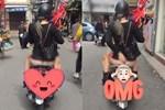 Đi chợ hoa Tết, cô gái bị chỉ trích vì mặc bộ đồ khoe vòng 1 siêu phản cảm-4