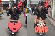 Cô gái trẻ bị chỉ trích phản cảm vì ra đường mà không mặc quần