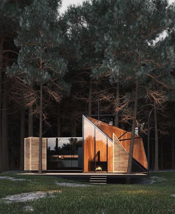 Những mẫu nhà cấp 4 đẹp, phong cách kiến trúc đa dạng ai ngắm cũng mê-13