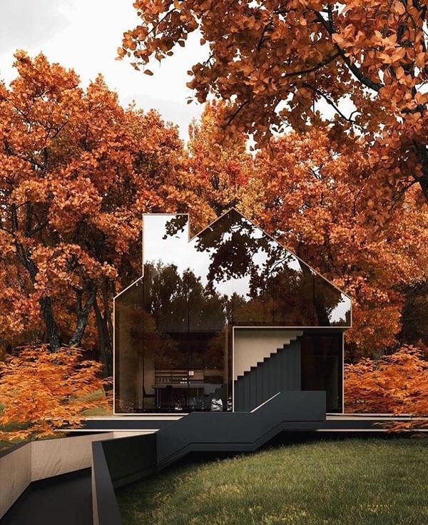 Những mẫu nhà cấp 4 đẹp, phong cách kiến trúc đa dạng ai ngắm cũng mê-14