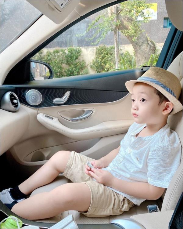 Nghe câu nói ngọt lịm tim này của con trai chưa đầy 5 tuổi,dù làm mẹ đơn thân Ly Kute cũng thấy ấm lòng-3