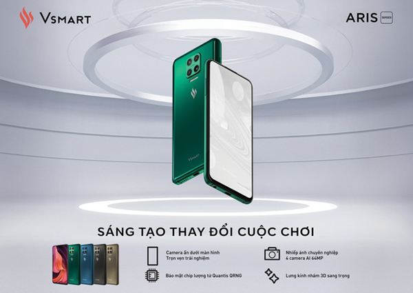 Vsmart Aris Pro - chiếc điện thoại nhỏ 'cõng' tư duy lớn-1
