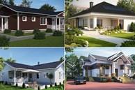 Những mẫu nhà cấp 4 đẹp, phong cách kiến trúc đa dạng ai ngắm cũng mê