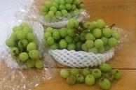 Cửa hàng hoa quả nổi tiếng bị tố bán nho héo, quả mềm, rụng tơi tả cho khách