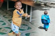 Những hình ảnh không thể nào quên về Đinh Văn K'rể: Tạm biệt cậu bé tí hon với nụ cười luôn nở trên môi