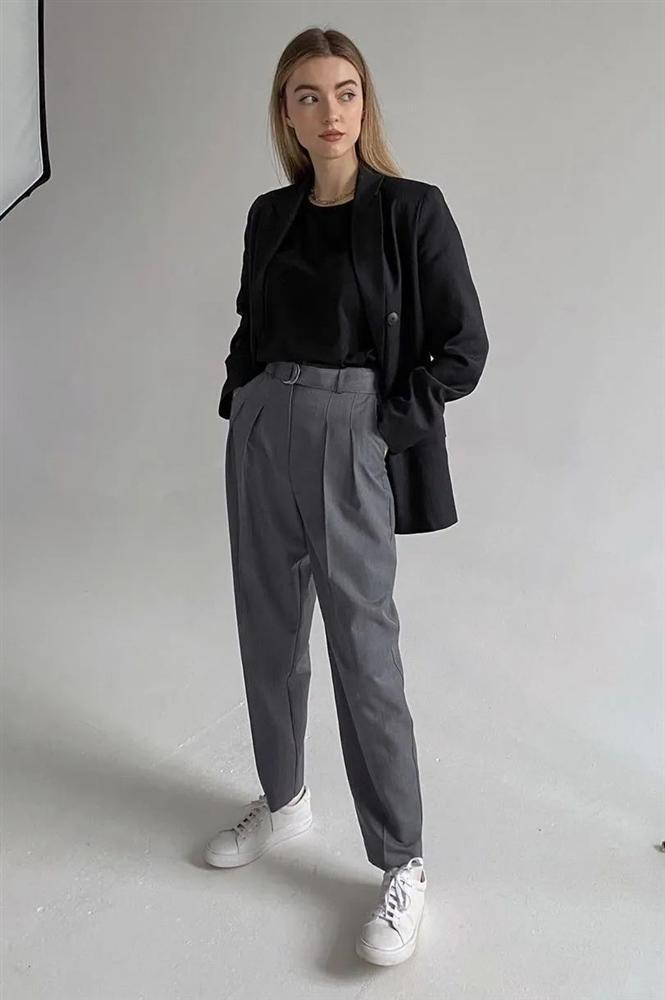 4 kiểu áo mix đẹp cùng quần ống suông, diện lên vừa hack dáng lại vừa sang xịn-15