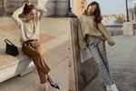 Hội con gái Hàn hay mix quần ống suông với 3 kiểu áo này để ghi điểm sành điệu và sang xịn nhất-19