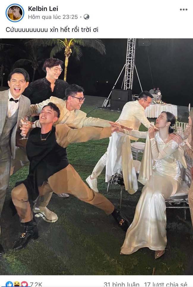 """Đông Nhi tung ảnh dìm hàng cả showbiz trong hôn lễ thế kỷ: Minh Hằng mất sạch hình tượng nhưng trùm cuối"""" lại là cô dâu-9"""