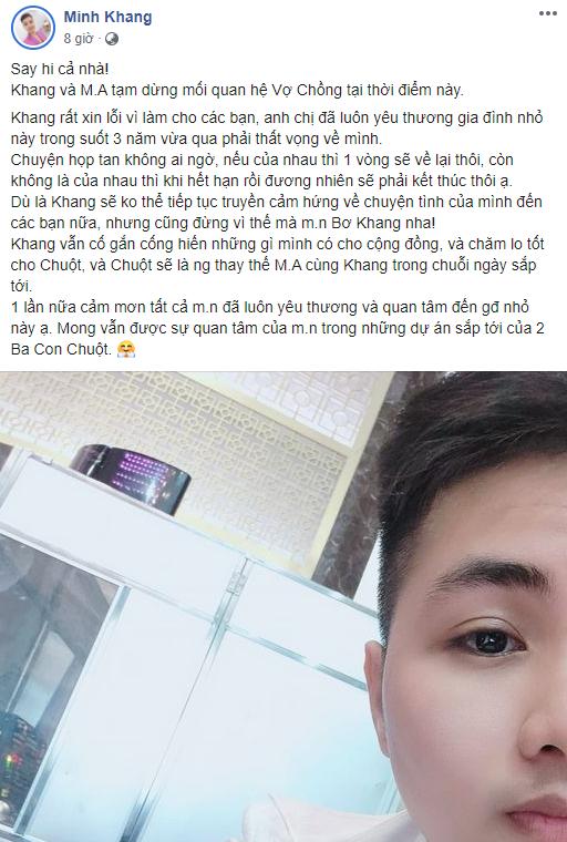 Cặp đôi chuyển giới hot MXH chia tay: Người đàn ông đầu tiên ở Việt Nam mang thai bức xúc tố vợ vô ơn cùng 1 loạt phốt khác-2