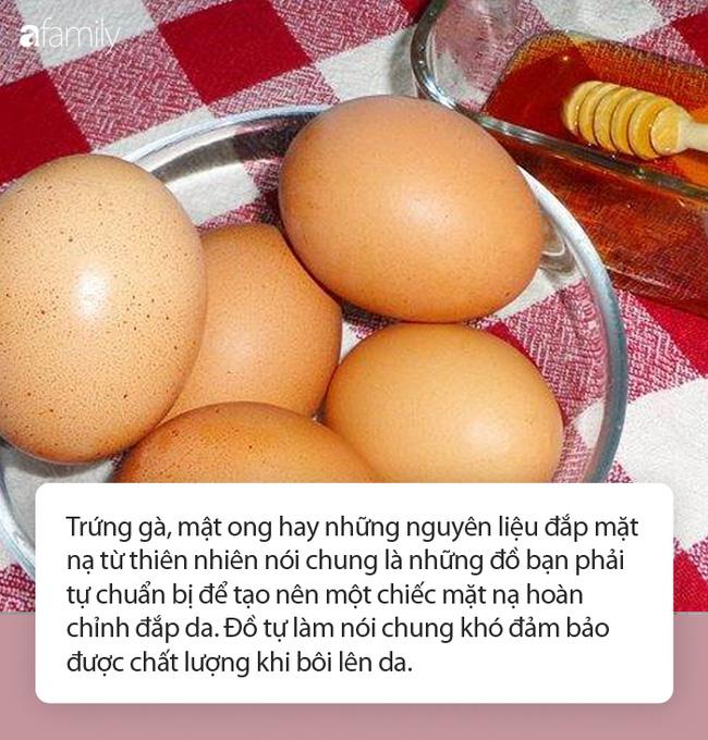 Đắp mặt nạ mật ong trứng gà: Chuyên gia cảnh báo cẩn thận lợn lành thành lợn què-2