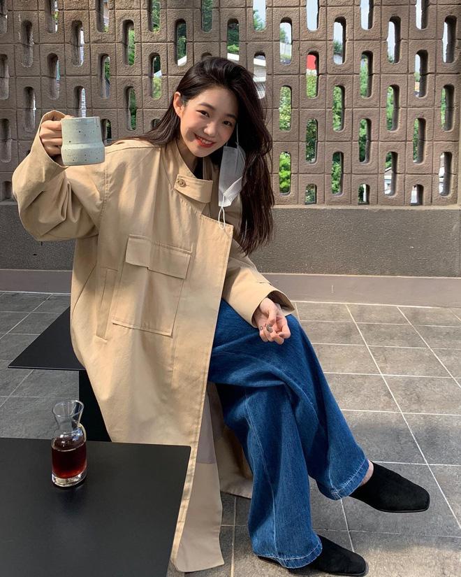 5 công thức lên đồ mùa lạnh xinh ngất ngây mà hội gái Hàn đang thi nhau diện-11