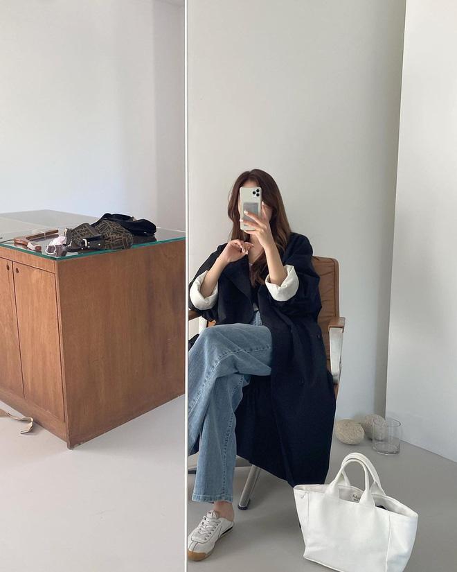 5 công thức lên đồ mùa lạnh xinh ngất ngây mà hội gái Hàn đang thi nhau diện-12