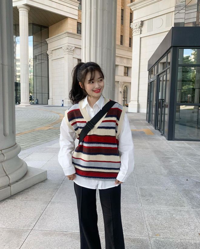 5 công thức lên đồ mùa lạnh xinh ngất ngây mà hội gái Hàn đang thi nhau diện-3