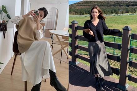 5 công thức lên đồ mùa lạnh xinh ngất ngây mà hội gái Hàn đang thi nhau diện