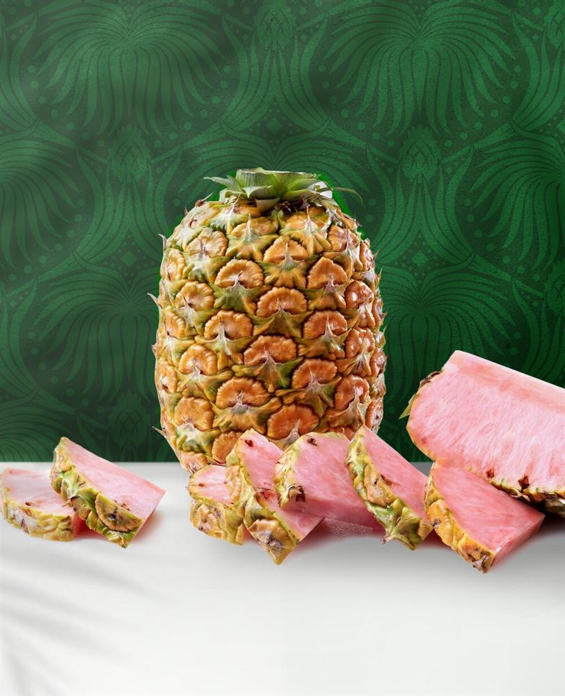 Dứa ruột hồng, thơm như kẹo bông giá cả triệu/quả-3