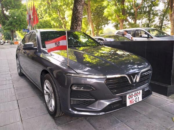 Đại sứ quán Áo chọn VinFast Lux A2.0 làm xe công vụ-1
