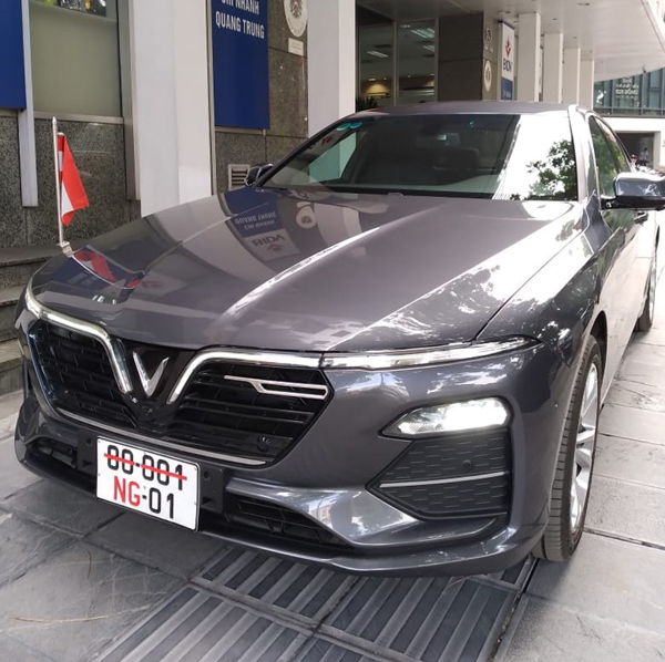 Đại sứ quán Áo chọn VinFast Lux A2.0 làm xe công vụ-2
