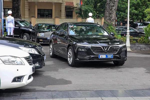 Đại sứ quán Áo chọn VinFast Lux A2.0 làm xe công vụ-3