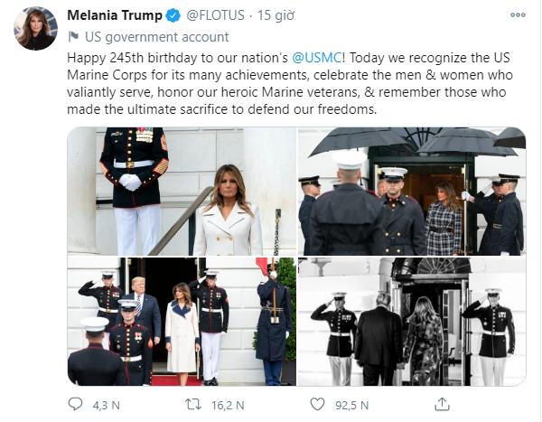 Ivanka Trump xuất hiện tích cực trên truyền thông, chia sẻ ảnh đẹp hút hồn trong khi Đệ nhất phu nhân Mỹ cũng có động thái mới-3