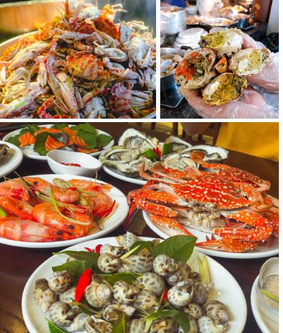 Bỏ hơn 1 triệu ăn buffet hải sản ở nhà hàng nổi tiếng Hà Nội, thực khách bất ngờ phát hiện cua có giun nhưng câu trả lời từ nhà hàng lại là thứ kỳ lạ khác?!?-1