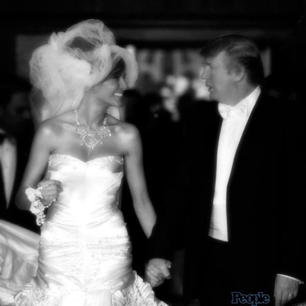 Ông Trump và bà Melania đã ký thỏa thuận tiền hôn nhân-1