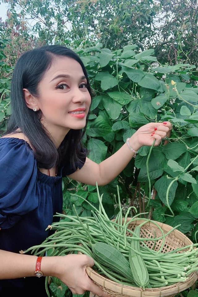 Nhà vườn rộng 2500m2 ngập tràn cây trái của Việt Trinh-2