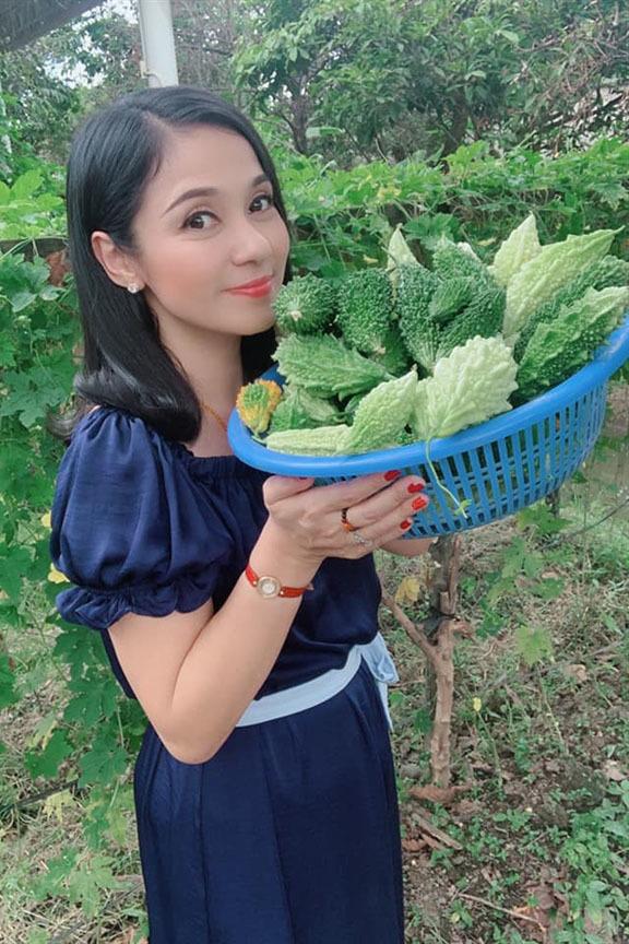 Nhà vườn rộng 2500m2 ngập tràn cây trái của Việt Trinh-3