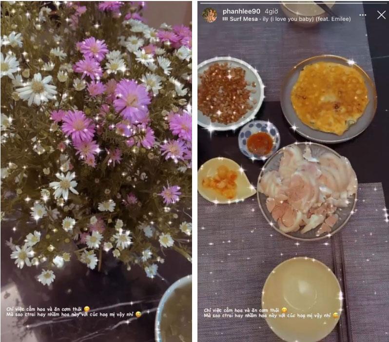 Hỏi: Lấy chồng đại gia rồi làm gì? Nhìn Phanh Lee này: Chỉ việc cắm hoa và ăn cơm thôi!-1
