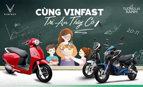 VinFast tặng quà tri ân thầy cô dịp 20/11-1