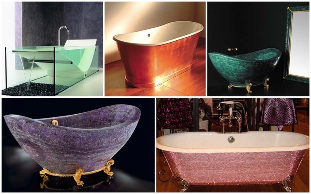 Những chiếc bồn tắm siêu đắt đỏ chỉ có trong dinh thự của các tỷ phú-1