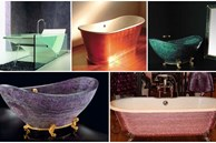 Những chiếc bồn tắm siêu đắt đỏ chỉ có trong dinh thự của các tỷ phú